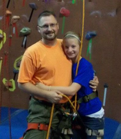 Dad & Daughter climb