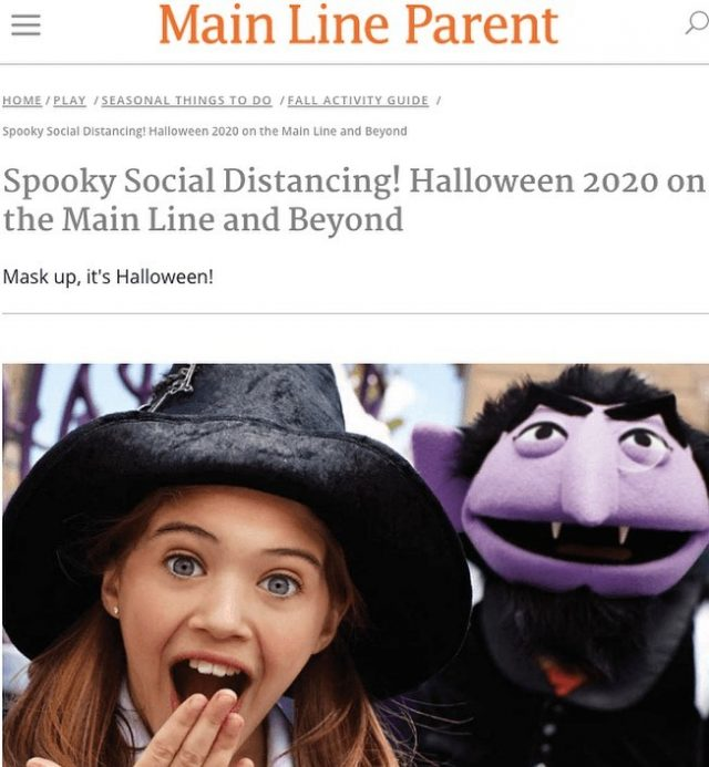 Our Trick or Treat event is featured in Main Line Parent and Philly Family magazines! Thanks, @mainlineparent and @phillyfamilymag!  Check out our Upcoming Events (link in bio) to sign your kiddos up for our COVID-friendly Trick or Treat Event! #positivelyprg #prg #kidclimbers #mainlineparent #phillyevents #phillyclimbers #covidfriendly