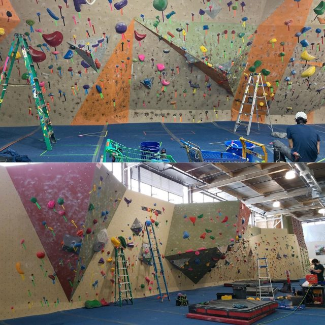 SETTING ALERT!   PRG Wyncote & Oaks bouldering walls are being reset for the Winter Burn happening Saturday, Feb. 6th.  Oaks & Wyncote Members have multigym access until after the comp.  Wondering what the Winter Burn is or looking to register?   Click the link in our bio.   #confidencecommunityclimbing #winterburn #burnseries #setting #phillyclimbers #boulderingcomp