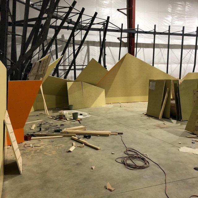 Walls are going up!!! Things are coming together fast & we couldn't be more excited!   #confidencecommunityclimbing #positivelyprg #prgmalvern #malvernupdate #malverngym #climbinggym #indoorclimbing #phillyclimbers