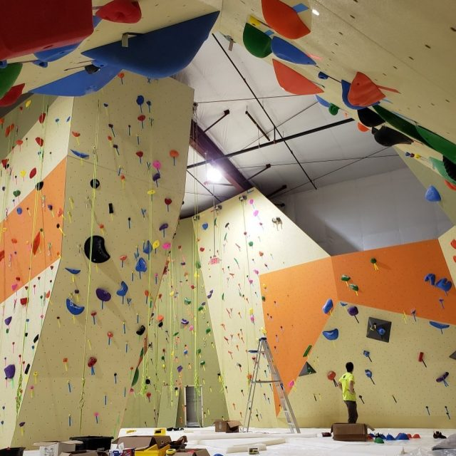 The setters have been setting up a storm at PRG Malvern this week! Padded flooring is next.   Don't forget all PRG Malvern Pre-Sale Memberships receive: - No $35 Initiation Fee - FREE Intro to Climbing ($45 value)  Link in bio!  #confidencecommunityclimbing #prgmalvern #malvernmonday #openingsoon #phillyclimbers #indoorclimbing #newhobby #trynewthings #phillygym