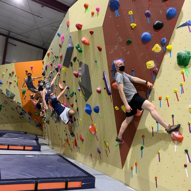 This weekend ROCKED at PRG Malvern!   Didn't get a chance to check it out? Come on in! We're OPEN!   #confidencecommunityclimbing #prgmalvern #prg  #phillyclimbers #finally #worththewait #bouldering #newgym #climbon #climbinggym #malverngym #newhobby
