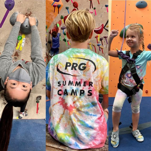 Feeling all of the psych as we have kicked off our first week of summer camps and classes! 🤩 . . . Interested in participating in 2021 summer session?  Check out the link in our bio to register for camp and class now :) _ #prg #climbingcamp #youngclimbers #confidencecommunityclimbing #summercamp #phillyclimbers