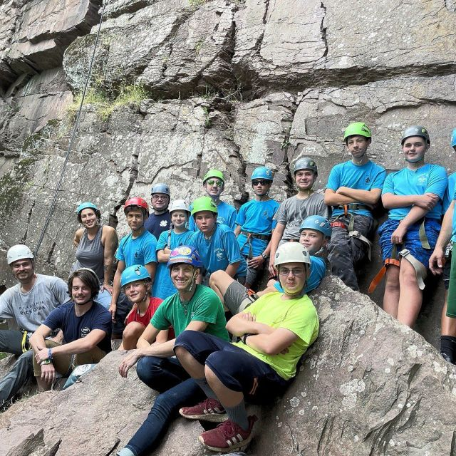 We had a great time leading our merit badge scouts last weekend! . . . #Meritbadges #Scouts #prgmeritbadgegroups #climbing #learning #confidencecommunityclimbing